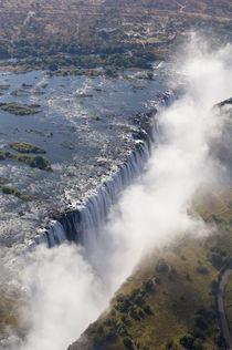 Zambia - Zimbabwe border von Danita Delimont