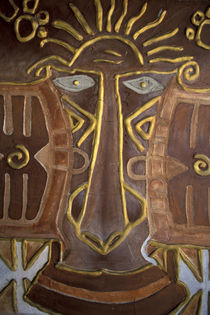 Fijian masks for sale by Danita Delimont