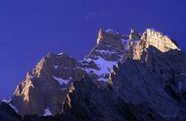 Sunrise on the mountain range by Danita Delimont
