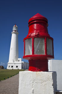 Cabo Santa Maria Lighthouse exterior by Danita Delimont