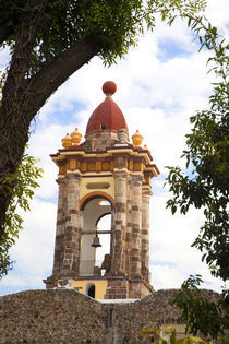 The bell tower of Templo Las Monjas von Danita Delimont