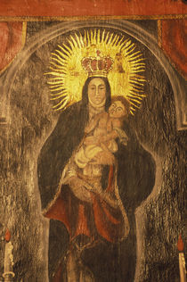 San Xavier del Bac Mission Interior von Danita Delimont