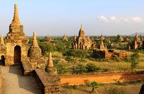 Various Bagan temples by Danita Delimont