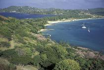 View of Pigeon Island von Danita Delimont