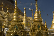 Golden stupa of Shwedagon Pagoda by Danita Delimont