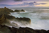 Waves crash on the south shores of Lopez Island by Danita Delimont