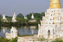 A buddhist temple complex near Mandalay by Danita Delimont