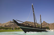 Replica of the Sohar originally sailed in the 8th century by Abdullah bin Gasm to Canton (Guangzhou) China by Danita Delimont