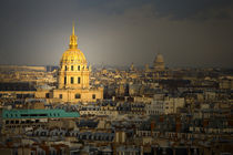 Les Invalides seen from the Eiffel Tower von Danita Delimont