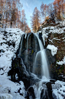 Wasserfall im Winter by Wolfgang Dufner