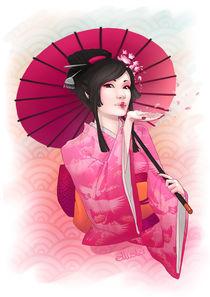 Geisha von Eloise Moffatt