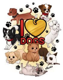I Love Dogs von Eloise Moffatt