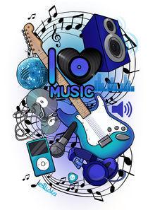 I Love Music by Eloise Moffatt