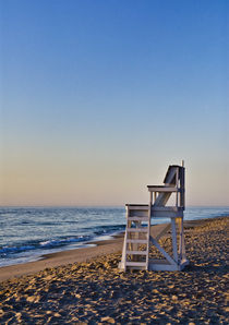 Lifeguard stand, Cape Cod, Massachusetts, USA