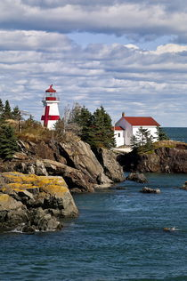 Head Harbour Light, New Brunswick, Canada