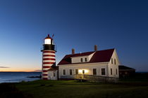 West Quoddy Head Lighthouse von John Greim