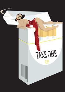 Cigarette Girl by Nina Mierowska