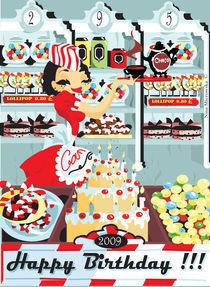 Candy Shop von Nina Mierowska