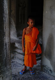 Child Monk by Jenny Siers