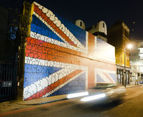 Big Bold Union Jack. von Tom Hanslien