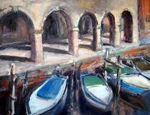 Boote in Chioggia by Ellen Fasthuber-Huemer