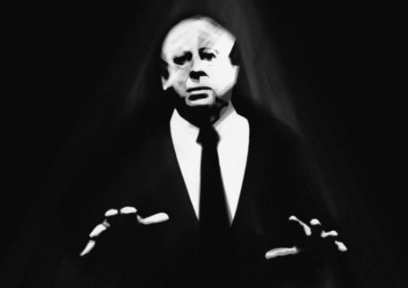 Alfred-hitchcock-by-nikhil-bose-sangle
