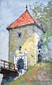 The Ozalj Castle by Alfred Freddy Krupa (Kruppa)