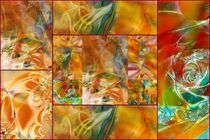 Collage Farbenfroh 1 von claudiag