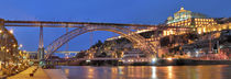 Dom Luis I, Porto Portugal by imageworld
