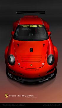 Porsche 911 997 GT3 RSR red von Robert Prispilovic