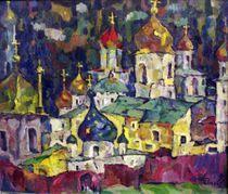 Golden Domes von Ivan Filichev
