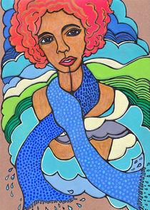 bluescarf von finkpink