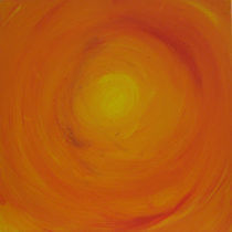 Orange Sky von Gina Hampton
