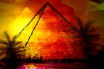 Goldene Pyramide. von Bernd Vagt
