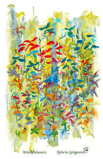 Wallflowers by Bjorn  Sjogren