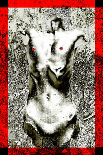 'Body Art 5 in Silver and Red' by Igor Shrayer