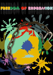 Freedom Of Expression by Lorenza Dona'