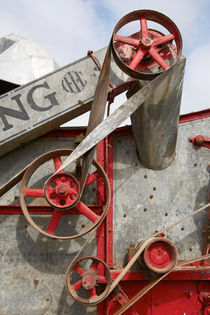 McCormick Deering Thresher Belts von Geoff Bryant