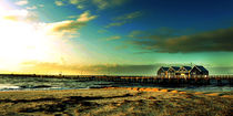 Sunset at Busselton Jetty - Perth by Yew Kwang Lim