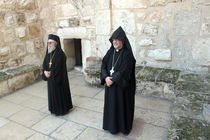 Greek and Armenian Monks by Munir Alawi