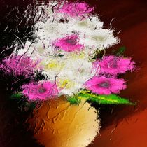 Blumenwelt Stillleben. von Bernd Vagt