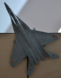 Mig 29 Fulcrum scale model by Paul Iulian Gheorghe