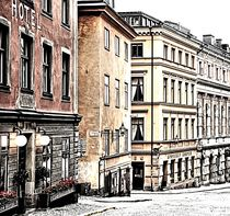 Buildings of Gamla Stan by Jenny Hudson