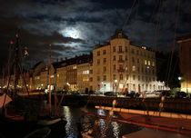 Copenhagen At Night von Jenny Hudson