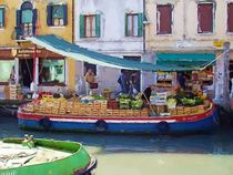 Market Day in Venice von Jenny Hudson