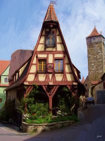Rothenburg Building von Jenny Hudson