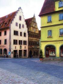 Rothenburg Square von Jenny Hudson