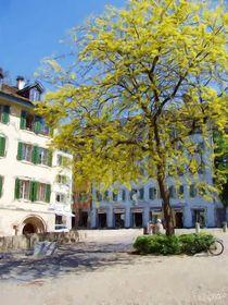 Zurich Courtyard von Jenny Hudson