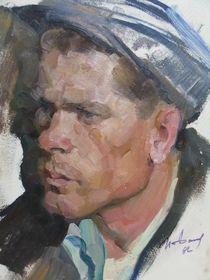Portrait of a Soviet Worker by Ivan Filichev