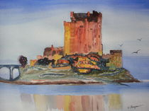 Eilean Donan Castle, Dornie Inverness-shire Scotland by Warren Thompson